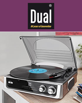 Dual-DTR-50-Schallplattenspieler-mit-Radio-Norma