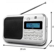 Dual DAB4 Portable Digitalradio / UKW-Radio im Norma Angebot