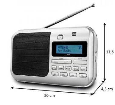 Dual DAB4 Portable Digitalradio / UKW-Radio: Norma Angebot ab 11.4.2018 – KW 15