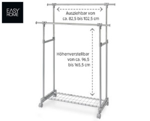 Easy Home Kleiderwagen 2017
