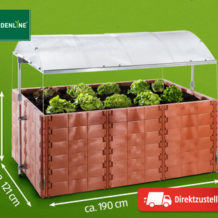 Gardenline all in one Hochbeet im Angebot | Hofer 6.9.2018 - KW 36