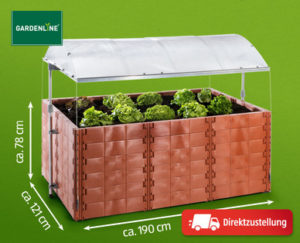 Gardenline Hochbeet all in one