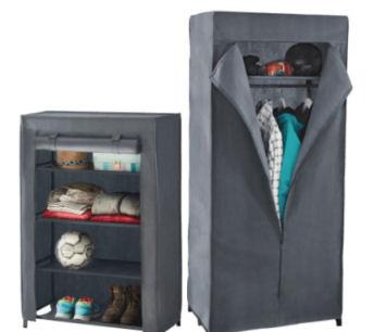 Home Creation Kleiderschrank und Regal im Aldi Nord Angebot ab 2.8.2018 – KW 31