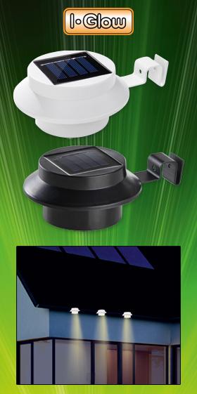 Norma: i-Glow LED-Solar-Dachrinnenlicht 3er-Set im Angebot [KW 10 ab 5.3.2018]