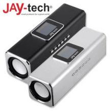 Jay-tech SA106BTR Mini-Bluetooth-Bass-Cube mit FM-Radio im Real Angebot