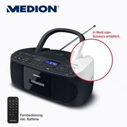 Bild von Medion Life E64070 CD-/MP3-/Kassettenspieler im Angebot bei Aldi Nord 7.12.2020 – KW 50
