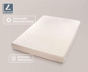 Hofer: My Living Style Supercomfort Matratze 140 x 200 cm im Angebot ab 28.8.2017