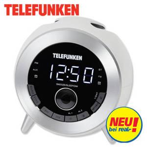 Real: Telefunken R1001B Bluetooth-Uhrenradio im Angebot ab 28.8.2017