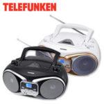 Real: Telefunken RC1003M Stereo-CD-/MP3-Radio im Angebot ab 18.6.2018
