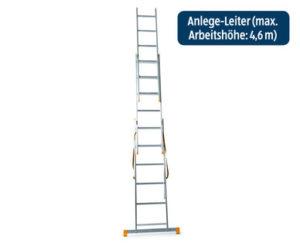 Workzone Alu-Leiter 3-teilig im Angebot bei Hofer [KW 36 ab 7.9.2017]