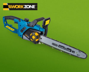 Workzone elektro kettensäge im hofer angebot