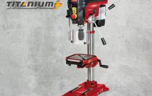 Workzone Profi-Säulenbohrmaschine Titanium+