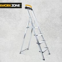 Workzone Sicherheitsleiter 4-stufig im Angebot bei Hofer ab 5.9.2019