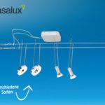 Casalux LED-Seilsystem im Angebot bei Hofer 21.9.2017 - KW 38