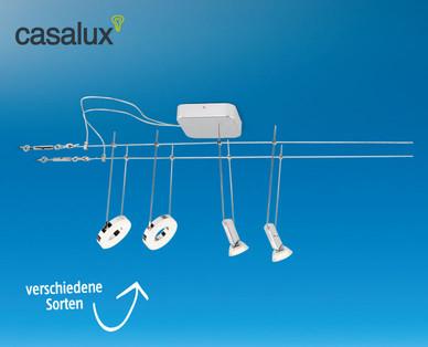 Casalux LED-Seilsystem bei Hofer erhältlich