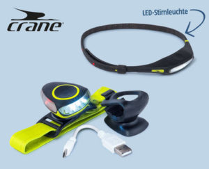 Crane LED-Stirnleuchte