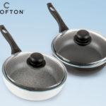 Crofton Bratpfanne mit Glasdeckel 24 cm bei Hofer erhältlich