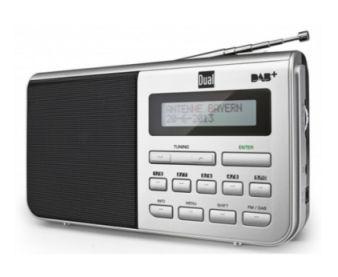 Dual DAB 4.1 Portables DAB+/UKW Radio bei Real ab 2.10.2017 erhältlich