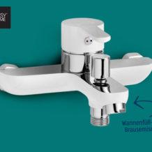 Hofer: EasyHome Design Armatur Disegno im Angebot