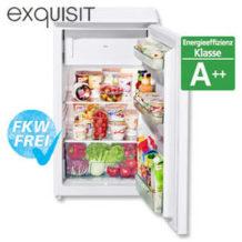 Real: Exquisit KS 117-4 A++ Kühlschrank im Angebot