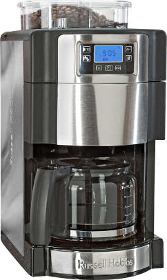 Lidl: Russell Hobbs Glas-Kaffeemaschine Buckingham Grind & Brew 20060-56 als April Highlight
