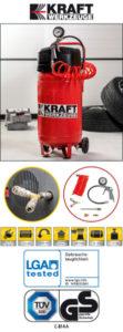 Kraft Werkzeuge Werkstatt-Kompressor bei Norma erhältlich
