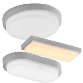 LED Flur Kellerleuchte