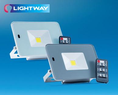 Lightway LED-Strahler 20 Watt bei Hofer erhältlich