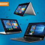 Medion Akoya E3216 MD 61350 360 Grad Notebook im Angebot bei Hofer