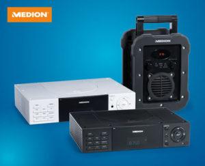 Medion Baustellen- und Freizeitradio mit Bluetooth-Funktion