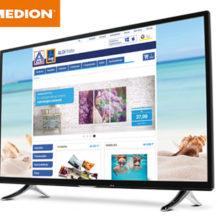Hofer: Medion Life X18112 MD31240 55-Zoll Ultra HD Fernseher im Angebot
