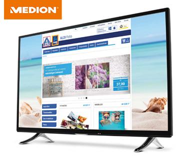 Hofer 14.12.2017: Medion Life X18112 MD31240 55-Zoll Ultra HD Smart-TV Fernseher im Angebot