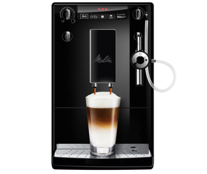 Melitta Caffeo Solo & Perfect Milk Pure Black Kaffee-Vollautomat bei Aldi Süd ab 11.1.2018 erhältlich