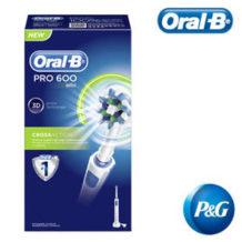 Oral-B PRO 600 Cross Action Elektrische Zahnbürste im Real Angebot