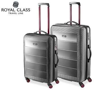 royal class travel line polycarbonat koffer business trolley und trolley boardcase bei aldi s d. Black Bedroom Furniture Sets. Home Design Ideas
