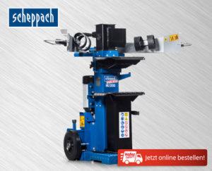 Scheppach Holzspalter HL 1200 bei Hofer ab 2.10.2017 erhältlich