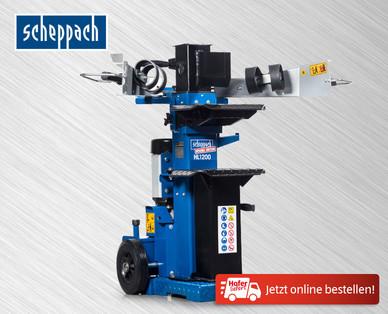 Scheppach HL 1200 Holzspalter im Hofer Angebot