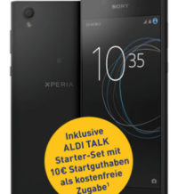 Sony Xperia L1 Smartphone im Aldi Süd / Nord Angebot