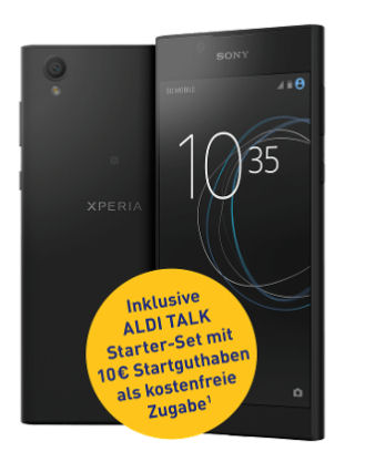 Photo of Sony Xperia L1 Smartphone im Aldi Süd / Nord Angebot