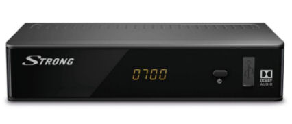 Strong SRT8212 FullHD-DVB-T2 Receiver im Real Angebot