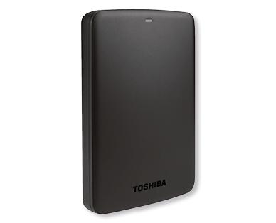 Aldi Nord 28.12.2017: Toshiba Canvio Externe Festplatte 1 TB 2,5-Zoll im Angebot