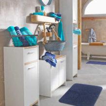 Waschbecken-Unterschrank, Spiegelschrank und Hochschrank im Angebot bei Kaufland [KW 4 ab 25.1.2018]