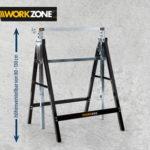 Workzone Arbeitsunterstellbock bei Hofer ab 25.9.2017 erhältlich