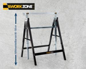 Workzone Arbeitsunterstellbock