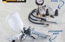 Workzone Zubehör-Set für 6 Liter Kompressor