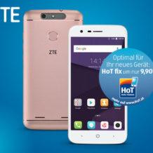Hofer: ZTE Blade V8 lite Smartphone im Angebot