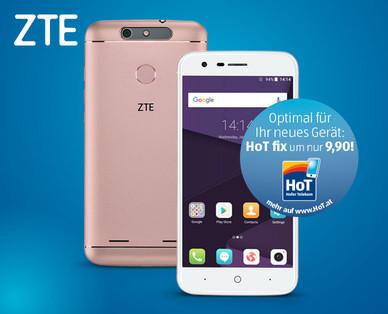 Hofer 26.2.2018: ZTE Blade V8 lite Smartphone im Angebot