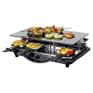 alaska rg 1211 g raclette grill im real angebot. Black Bedroom Furniture Sets. Home Design Ideas