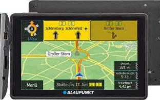 Blaupunkt Navigationssystem TravelPilot 43 CE LMU