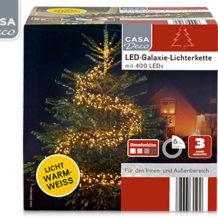 Casa Deco LED-Galaxie-Lichterkette bei Aldi Süd ab 19.10.2017 erhältlich